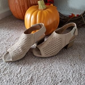 Open toe Ankle Booties